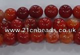 CAA1046 15.5 inches 6mm round dragon veins agate beads wholesale