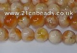 CAA1071 15.5 inches 6mm round sakura agate gemstone beads