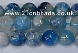 CAA1081 15.5 inches 6mm round sakura agate gemstone beads