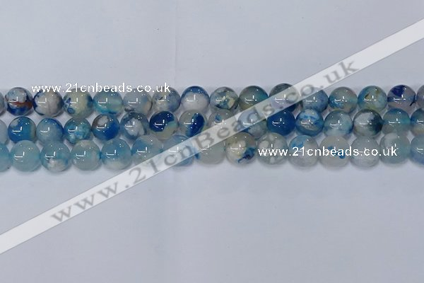 CAA1083 15.5 inches 10mm round sakura agate gemstone beads