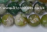 CAA1093 15.5 inches 10mm round sakura agate gemstone beads