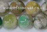 CAA1095 15.5 inches 14mm round sakura agate gemstone beads