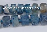 CAA1112 15.5 inches 8*12mm - 15*20mm nuggets sakura agate beads