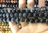 CAA1546 15.5 inches 12mm round banded agate beads wholesale