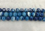 CAA1935 15.5 inches 14mm round banded agate gemstone beads