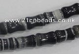 CAA213 15.5 inches 8*13mm bone madagascar agate beads