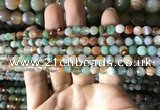 CAA2264 15.5 inches 6mm faceted round banded agate beads