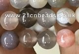 CAA2379 15.5 inches 6mm round Botswana agate beads wholesale