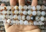 CAA3599 15.5 inches 10mm round dendritic agate beads wholesale
