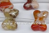 CAA3613 15.5 inches 18*25mm - 20*30mm bone sakura agate beads
