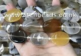 CAA3742 15.5 inches 22*30mm oval Montana agate beads wholesale