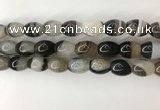 CAA3786 15.5 inches 12*16mm rice agate druzy geode beads