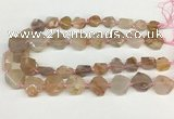CAA4043 15.5 inches 18*25mm - 22*25mm nuggets sakura agate beads