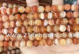 CAA4951 15.5 inches 8mm round Madagascar agate beads wholesale