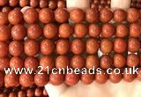 CAA5101 15.5 inches 10mm round red agate gemstone beads