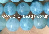 CAA5141 15.5 inches 6mm round dragon veins agate beads wholesale