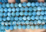 CAA5142 15.5 inches 8mm round dragon veins agate beads wholesale