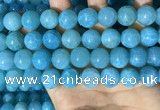 CAA5146 15.5 inches 14mm round dragon veins agate beads wholesale