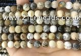 CAA5257 15.5 inches 8mm round dendrite agate beads wholesale