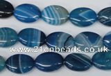CAA933 15.5 inches 10*14mm oval agate gemstone beads