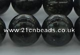 CAE08 15.5 inches 18mm round astrophyllite beads wholesale