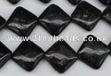 CAE100 15.5 inches 12*12mm diamond astrophyllite beads wholesale