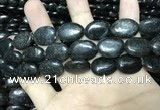 CAE300 15.5 inches 13*18mm oval astrophyllite beads wholesale