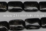 CAE91 15.5 inches 13*18mm rectangle astrophyllite beads wholesale