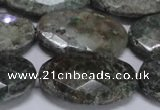 CAF150 15.5 inches 20*30mm faceted oval Africa stone beads
