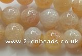 CAG240 15.5 inches 14mm round dragon veins agate gemstone beads