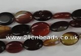CAG5020 15.5 inches 10*14mm oval agate gemstone beads wholesale