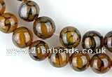 CAG56 5pcs 12mm&13mm round dragon veins agate beads wholesale