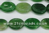 CAG5622 15 inches 13*16mm oval dragon veins agate beads wholesale