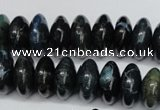 CAG5643 15 inches 8*16mm rondelle agate gemstone beads wholesale