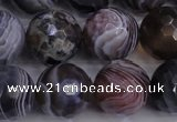 CAG5964 15.5 inches 14mm faceted round botswana agate beads wholesale