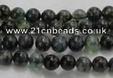 CAG7320 15.5 inches 4mm round dragon veins agate beads wholesale