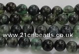 CAG7321 15.5 inches 6mm round dragon veins agate beads wholesale