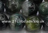 CAG7329 15.5 inches 20mm round dragon veins agate beads wholesale