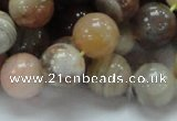 CAG766 15.5 inches 14mm round yellow agate gemstone beads wholesale