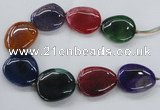 CAG8647 15.5 inches 35*40mm - 40*45mm freeform dragon veins agate beads