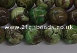 CAG9647 15.5 inches 10mm round ocean agate gemstone beads wholesale