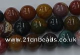 CAG9661 15.5 inches 6mm round ocean agate beads wholesale