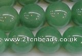 CAJ617 15.5 inches 18mm round AA grade green aventurine beads
