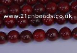 CAJ750 15.5 inches 4mm round apple jasper beads wholesale