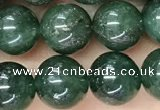CAJ812 15.5 inches 8mm round green Indian aventurine beads