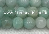 CAM1681 15.5 inches 6mm round natural amazonite beads wholesale
