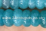 CAM1715 15.5 inches 5*9mm - 5*10mm rondelle natural amazonite beads