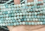 CAM1731 15.5 inches 6mm round amazonite gemstone beads