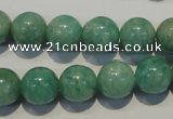 CAM805 15.5 inches 12mm round Brazilian amazonite beads wholesale