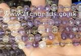 CAN253 15.5 inches 8mm pumpkin ametrine gemstone beads
